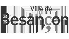 watergate översvämningsskydd logotypen för Besançon