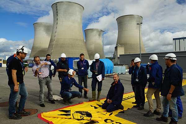 EDF-utbildning om översvämningsskydd