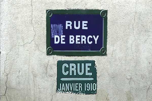 översvämningsmärke paris bercy