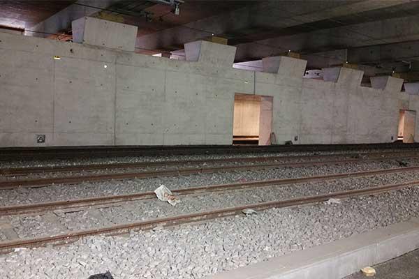 Översvämningsskydd RER C SNCF