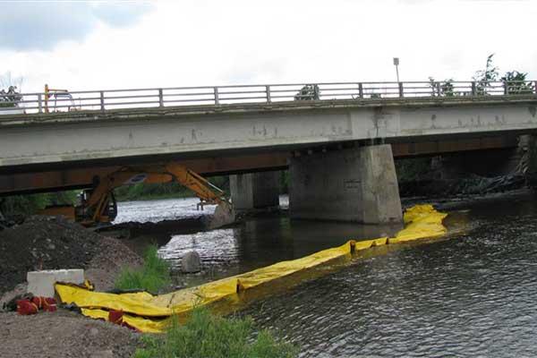 bjälksättningar i flodverk culvert