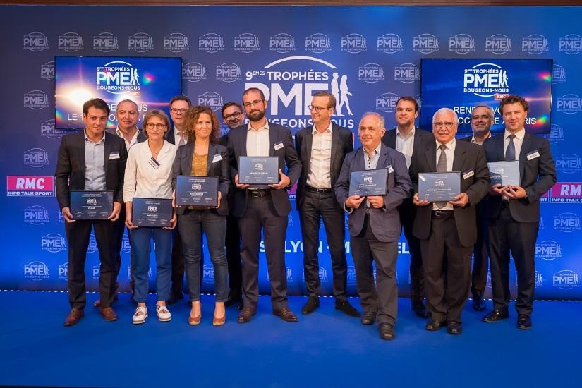 Megasecur.Europe Nicolas klein Trophées RMC bougeons nous les PME