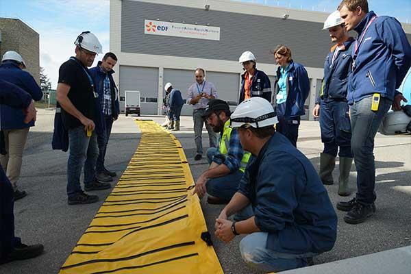 Översvämningsskydd EDF Megasecureurope